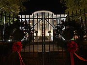 December 9, 2020 Jackson MS  After Tate Reeves, the Governor of Mississippi, held a press conference to discuss the soaring Covid-19 cases in the state, today there was a new record of new cases over 2700.  The Governor held a Christmas party at the Governors Mansion. The only people wearing masks were serving and there was very little social distancing. Earlier at the press conference the Governor asked everyone to wear a mask, not attend parties, to keep groups to under 10 people and then he broke all his new Executive Orders.  © Suzi Altman December 9, 2020 Jackson MS  After Tate Reeves, the Governor of Mississippi, held a press conference to discuss the soaring Covid-19 cases in the state,  there was a new record of new Covid -19 cases over 2700.  The Governor held a Christmas party at the Governors Mansion. The only people wearing masks were serving and there was very little social distancing. Earlier at the press conference the Governor asked everyone to wear a mask, not attend parties, to keep groups to under 10 people and then he broke all his new Executive Orders.  © Suzi Altman