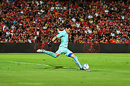 NONTHABURI, THAILAND - JULY 09: Siwarak of Buriram United in action during the second half of the Thai League: SCG Muangthong United vs Buriram United at SCG Stadium, Nonthaburi, Thailand on July 09, 2017.<br /> .<br /> .<br /> .<br /> (Photo by: Naratip Golf Srisupab/SEALs Sports Images)<br /> .<br /> Any image use must include a mandatory credit line adjacent to the content which should read: Naratip Golf Srisupab/SEALs Sports Images