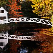 Lovely Somesville on Mt. Desert Island in Acadia National Park, Maine.