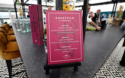 Theatre @ The Festival restaurant Cocktail signage