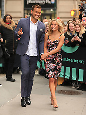 Colton Underwood and Carrie Randolph in NYC - 14 March 2019