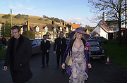 Ewan MacGegor, Marriage of Emily Mortimer, ( daughter of John Mortimer ) to Alessandro Nivola, Turville.© Copyright Photograph by Dafydd Jones 66 Stockwell Park Rd. London SW9 0DA Tel 020 7733 0108 www.dafjones.com