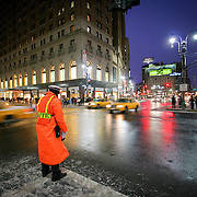 Herald Square traffic cop, New York, United States (March 2005)