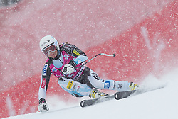 20.01.2013, Olympia delle Tofane, Cortina d Ampezzo, ITA, FIS Weltcup Ski Alpin, Super G, Damen, im Bild Julia Mancuso (USA) // Julia Mancuso of the USA in action during the ladies Super G of the FIS Ski Alpine World Cup at the Olympia delle Tofane course, Cortina d Ampezzo, Italy on 2013/01/20. EXPA Pictures © 2013, PhotoCredit: EXPA/ Johann Groder