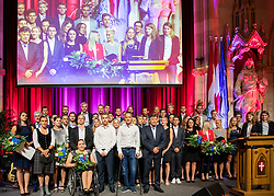 21.06.2019, Rathaus, Wien, AUT, ÖSV Länderkonferenz, im Bild grosses Gruppenfoto // during the 84th Ordinary State Conference of Austrian Ski Federation at the Rathaus in Wien, Austria on 2019/06/21. EXPA Pictures © 2019, PhotoCredit: EXPA/ Johann Groder