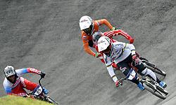 11-08-2018 BMX: EUROPEAN CHAMPIONSHIPS BMX CYCLING: GLASGOW<br /> Laura Smulders heeft haar succesjaar een vervolg gegeven bij het Europees kampioenchap BMX. Nadat ze in juni al de wereldtitel veroverde in Bakoe, was Laura ook in de Schotse stad de sterkste. Merel Smulders (NED)<br /> <br /> Foto: SCS/Soenar Chamid
