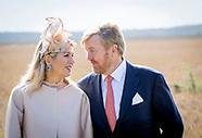 King Willem-Alexander and Queen Maxima visit Drenthe, 18-09-2019