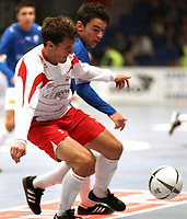 Fotball<br /> 04.01.2008<br /> Foto: Witters/Digitalsport<br /> NORWAY ONLY<br /> <br /> Patrick Gerrbrand, Haris Berisha Trelleborg<br /> Trelleborgs FF - Fredrikstad<br /> Fussball Schweinske Cup 2008