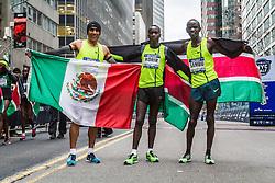 winner Leonard Korir, Kenya, Barrios, Sambu