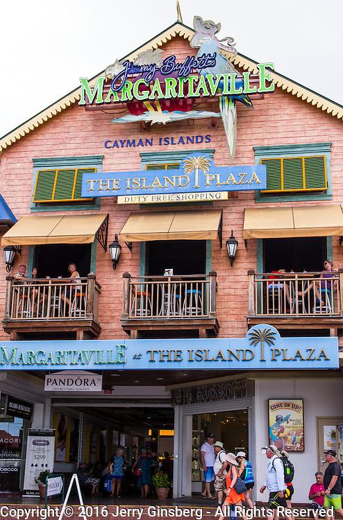 North America, Caribbean, Cayman Islands, Cayman, Grand Cayman, Georgetown, <br /> Colorful Georgetown, Grand Cayman.