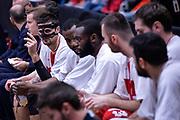 DESCRIZIONE : Milano Lega A 2015-16 Olimpia EA7 Emporio Armani Milano - Zagabria<br /> GIOCATORE : Andrea Cinciarini<br /> CATEGORIA : Curiosita<br /> SQUADRA : Olimpia EA7 Emporio Armani Milano<br /> EVENTO : Campionato Lega A 2015-2016<br /> GARA : Olimpia EA7 Emporio Armani Milano - Zagabria<br /> DATA : 05/11/2015<br /> SPORT : Pallacanestro<br /> AUTORE : Agenzia Ciamillo-Castoria/M.Ozbot<br /> Galleria : Lega Basket A 2015-2016 <br /> Fotonotizia: Milano Lega A 2015-16 Olimpia EA7 Emporio Armani Milano - Zagabria