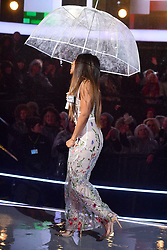 Malika Haqq enters the house during the Celebrity Big Brother Launch held at Elstree Studios in Borehamwood, Hertfordshire.Â