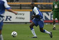 Photo: Paul Thomas.<br /> Southport v Wigan Athletic. Pre Season Friendly. 02/08/2006.<br /> <br /> Emmerson Boyce, New Wigan signing.