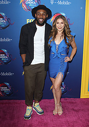 Fox Teen Choice Awards 2018. 12 Aug 2018 Pictured: Alison Holker, Stephen Boss. Photo credit: Jaxon / MEGA TheMegaAgency.com +1 888 505 6342