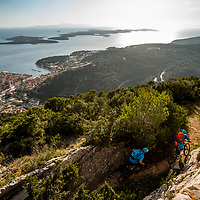 Blake Samson and James Brickell on Hvar island, Croatia.