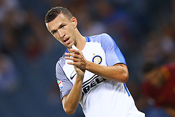 August 26, 2017 - Rome, Italy - Ivan Perisic of Internazionale  during the Serie A match between AS Roma and FC Internazionale at Olimpico Stadium in Rome, Italy, on August 26, 2017. (Credit Image: © Matteo Ciambelli/NurPhoto via ZUMA Press)