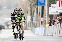 Emanuel Piaskowy of Cycling Academy Team and Andrea Ruscetta of GM Europa Ovini  during the UCI Class 1.2 professional race 3rd Grand Prix Izola, on February 28, 2016 in Izola / Isola, Slovenia. Photo by Vid Ponikvar / Sportida