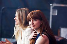 Nicola Roberts at Musselburgh Ladies Day, Edinburgh, 1 June 2019