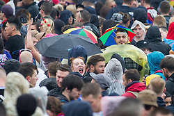 © Licensed to London News Pictures . 07/06/2014 . Heaton Park , Manchester , UK . Crowds . The Parklife music festival in Heaton Park Manchester following heavy overnight rain . Photo credit : Joel Goodman/LNP
