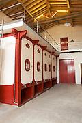 concrete vats ch moulin du cadet saint emilion bordeaux france