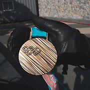 Team GBs Billy Morgans bronze medal for the snowboard Big Air on 25th February 2018 at Alpensia Resrot in South Korea