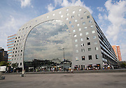 Markthal building in Binnenrotte, central Rotterdam, Netherlands, completed 2014 architects MVRDV