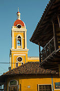 Tower of the Granada Cathedral also known as Our Lady of the Assumption Cathedral, Granada, Nicaragua