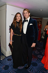 British fine jewellery brand Boodles welcomed guests for the 2013 Boodles Boxing Ball in aid of Starlight Children's Foundation held at the Grosvenor House Hotel, Park Lane, London on 21st September 2013.<br /> Picture Shows:-BEN ELLIOT and his wife MARY-CLAIRE.<br /> <br /> Press release - https://www.dropbox.com/s/a3pygc5img14bxk/BBB_2013_press_release.pdf<br /> <br /> For Quotes  on the event call James Amos on 07747 615 003 or email jamesamos@boodles.com. For all other press enquiries please contact luciaroberts@boodles.com (0788 038 3003)