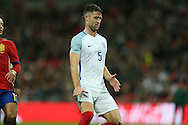 Gary Cahill of England looks on.  England v Spain, Football international friendly at Wembley Stadium in London on Tuesday 15th November 2016.<br /> pic by John Patrick Fletcher, Andrew Orchard sports photography.