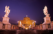 The Castel Sant'Angelo, is a cylindrical building in Rome commissioned by the Roman Emperor Hadrian as a mausoleum for himself and his family.  Built in 139 AD, the building has been used as a fortress and a castle, and is now a museum.