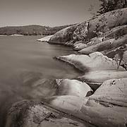 McGregor Bay, Ontario. An 8-minute exposure.