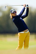 Giulia Sergas -8 after round 1. Round 1, Pegasus NZ Women's Open. Pegasus Golf Club, Christchurch, New Zealand. Thursday, 17 February 2011. Joseph Johnson / PHOTOSPORT.