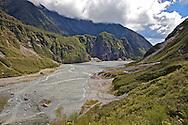 Fox Glacier Valley, New Zealand