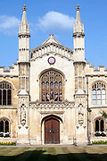 Corpus Christi College (founded in 1352 by the Guilds of Corpus Christi and the Blessed Virgin Mary), Cambridge University, Cambridge, UK