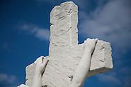 Tomb statuette at Cementerio de Colon, Havana, Cuba