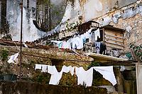 Laundry, Rooftop, Havana Cuba 2020 from Santiago to Havana, and in between.  Santiago, Baracoa, Guantanamo, Holguin, Las Tunas, Camaguey, Santi Spiritus, Trinidad, Santa Clara, Cienfuegos, Matanzas, Havana