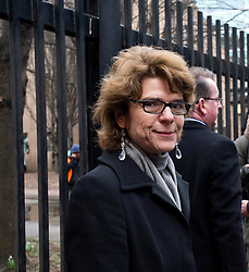 © London News Pictures. 11/03/2013 . London, UK.  Vicky Pryce arriving at Southwark Crown Court on March 11, 2013 where she is due to be sentenced for perverting the course of justice. Vicky Pryce admitted accepting penalty points incurred by her former husband and disgraced MP Chris Huhne in 2003. Photo credit : Ben Cawthra/LNP