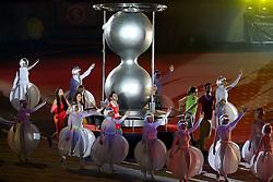 Vista geral da Festa Gigante - Reinauguração do Beira-Rio, neste sábado 05 de abril de 2014. O estádio Beira Rio receberá os jogos da Copa do Mundo de Futebol 2014. FOTO: Jefferson Bernardes/ Agência Preview