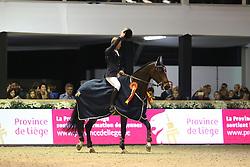 Bruynseels Niels, (BEL), Cas de Liberte Kelshof Z<br /> CSI4* Jumping International Liege 2015<br /> © Hippo Foto - Counet Julien