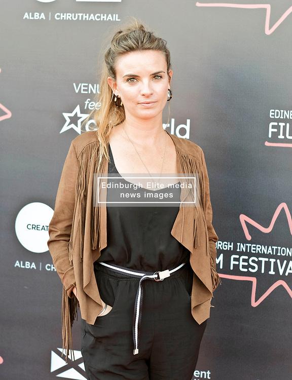 Edinburgh International Film Festival, Wednesday, 27th June 2018<br /> <br /> OBEY (UK PREMIERE)<br /> <br /> Pictured:  Producer Emily Jones<br /> <br /> (c) Alex Todd | Edinburgh Elite media