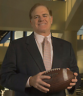 CM- Omaha, NE Joe Moglia, CEO of Ameritrade on Tuesday morning in the front entrance of the Ameritrade building,  (photo by Chris Machian/Prarie Pixel Group)