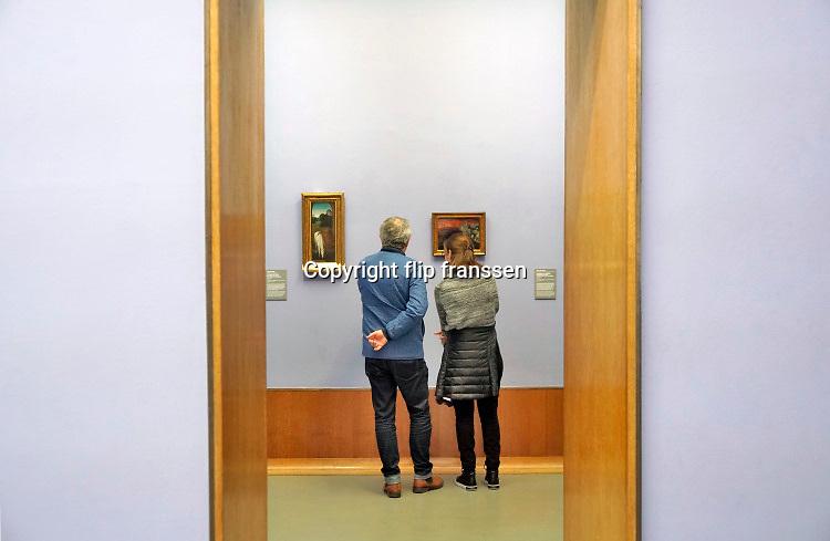 Nederland, Rotterdam, 16-12-2018In het Museum Boymans, Boijmans van Beuningen, een van nederlands oudste musea, hangen kunstwerken uit verschillende periodes. De komende periode zal het museum ingrijpend gerenoveerd en vernieuwd worden .Foto: ANP/ Hollandse Hoogte/ Flip Franssen