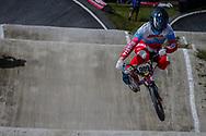#909 (KATYSHEV Aleksandr) RUS during round 4 of the 2017 UCI BMX  Supercross World Cup in Zolder, Belgium.