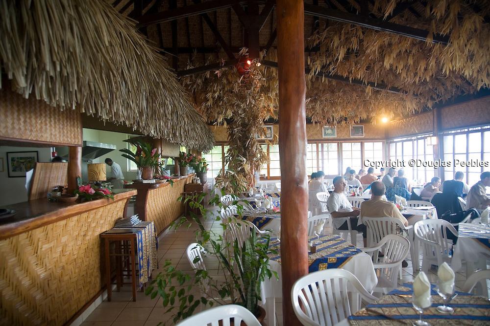 Les Tipaniers Hotel & Restaurant, Moorea, French Polynesia