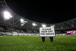 A general view of the pitch at London Stadium