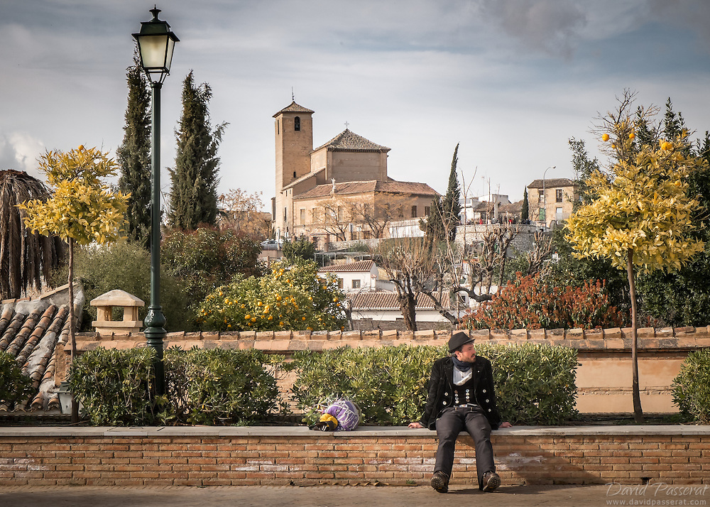 This parc in located in the old town of Granada, the Albacin district.<br /> Between St Nicholas and St Miguel square, it is a nice play to sit a while with an Alhambra view, less crowded than the most tourstic St Nicholas square.