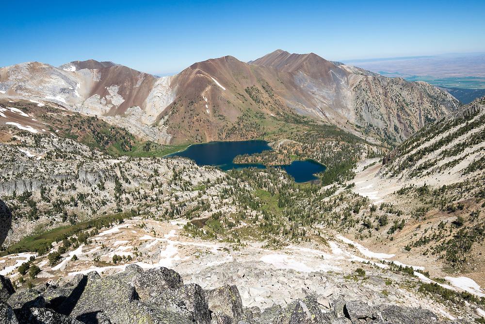 Ice Lake Basin and Hurwal Divide  in Oregon's Wallowa Mountains.