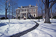 Fort Hunter, Dauphin County, PA in snow