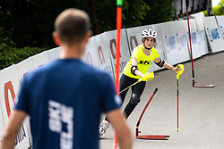Skier of Ski Celje during 2nd Stage of 27th Tour of Slovenia 2021 cycling race between Zalec and Celje (147 km), on June 10, 2021 in Slovenia. Photo by Matic Klansek Velej / Sportida