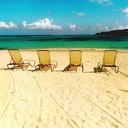 Couple snorkling in Anguilla, Brithish West Indies